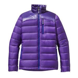 Patagonia fitz Roy down purple jacket nwot xl